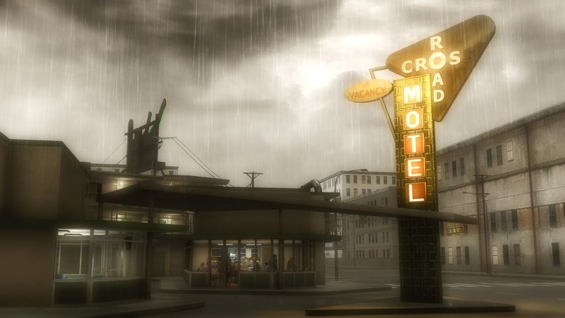 Heavy Rain motel