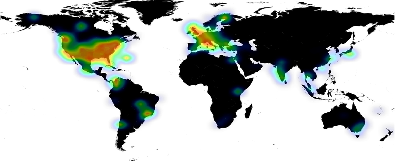 SMW Twitter Heatmap