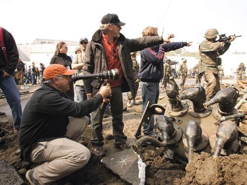 Spielberg and Mitch Dubin