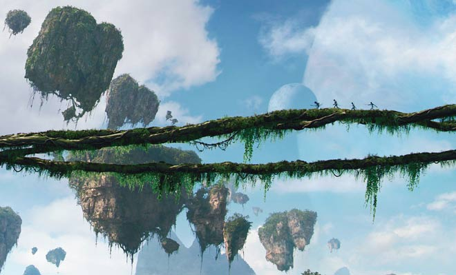 Avatar: The floating Hallelujah Mountains of Pandora