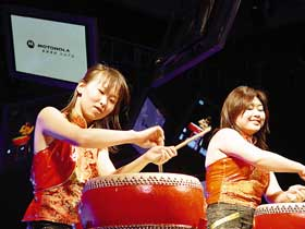 Red Poppy Ladies Percussion