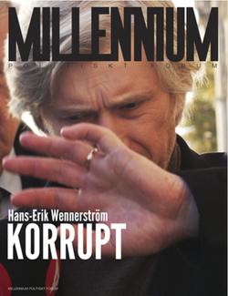 Millennium Magazine: Hans-Erik Wennerström KORRUPT