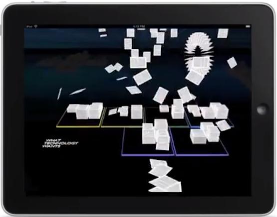 iPad screenshot: What Technology Wants