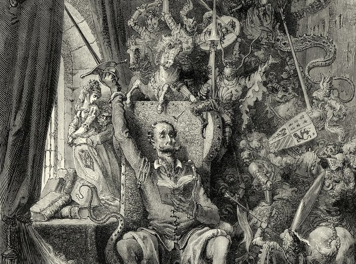 Don Quixote, by Gustave Doré