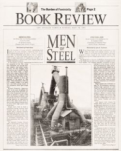Los Angeles Times Book Review: Men of Steel