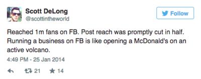 Scott DeLong tweet