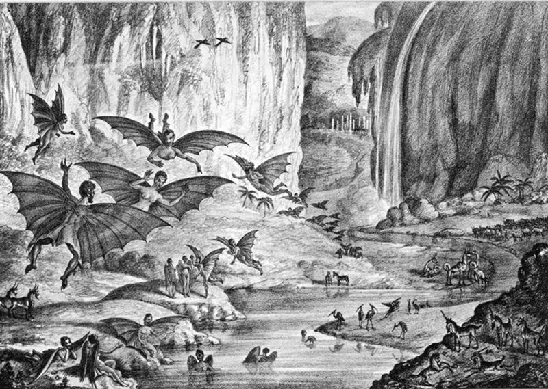Great Moon Hoax-1835-New York Sun