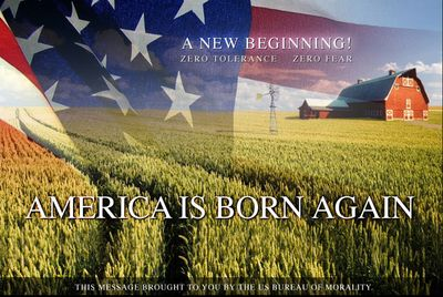 America Is Born Again